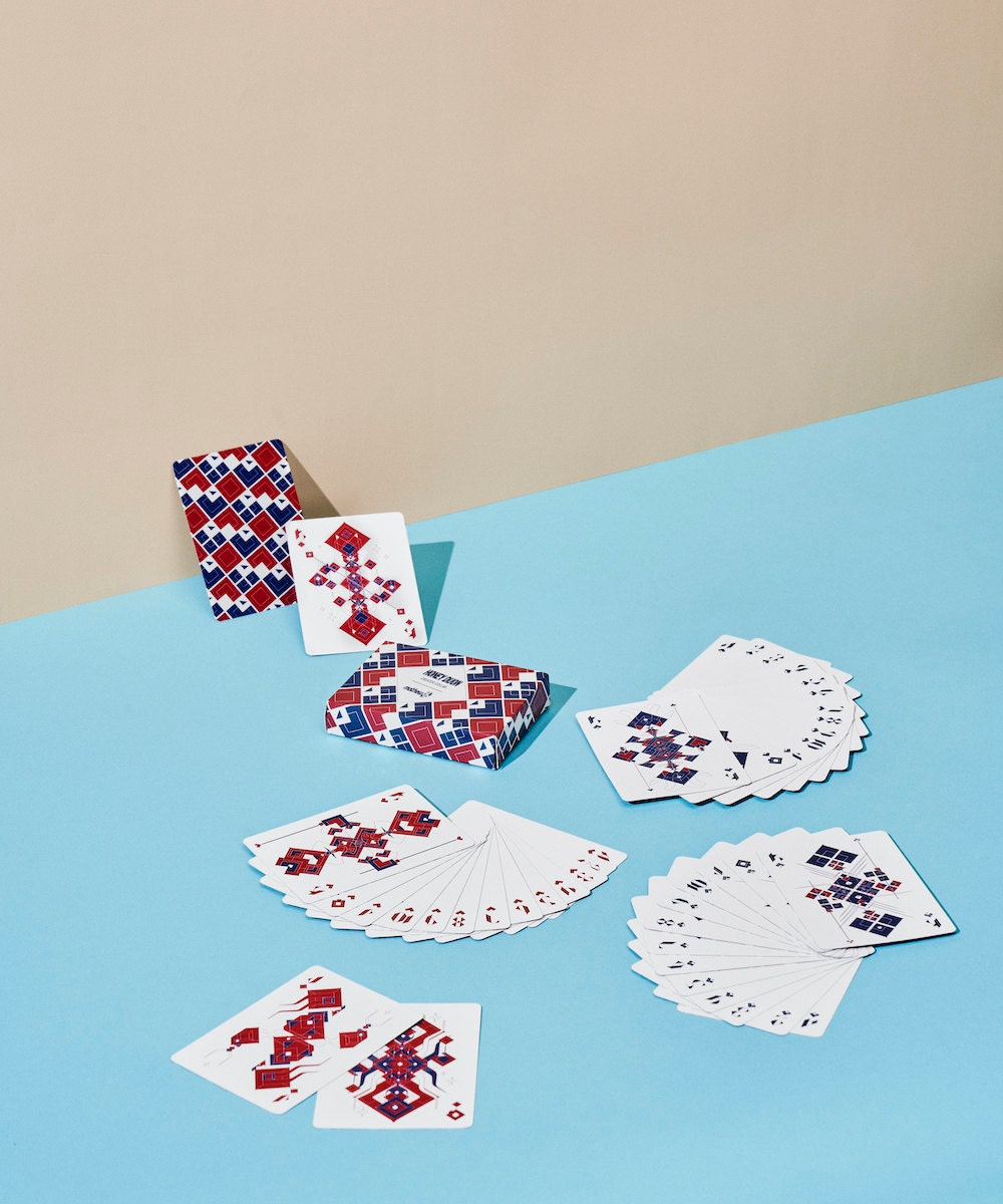 Playing cards from Mathew den Boer, on Etsy