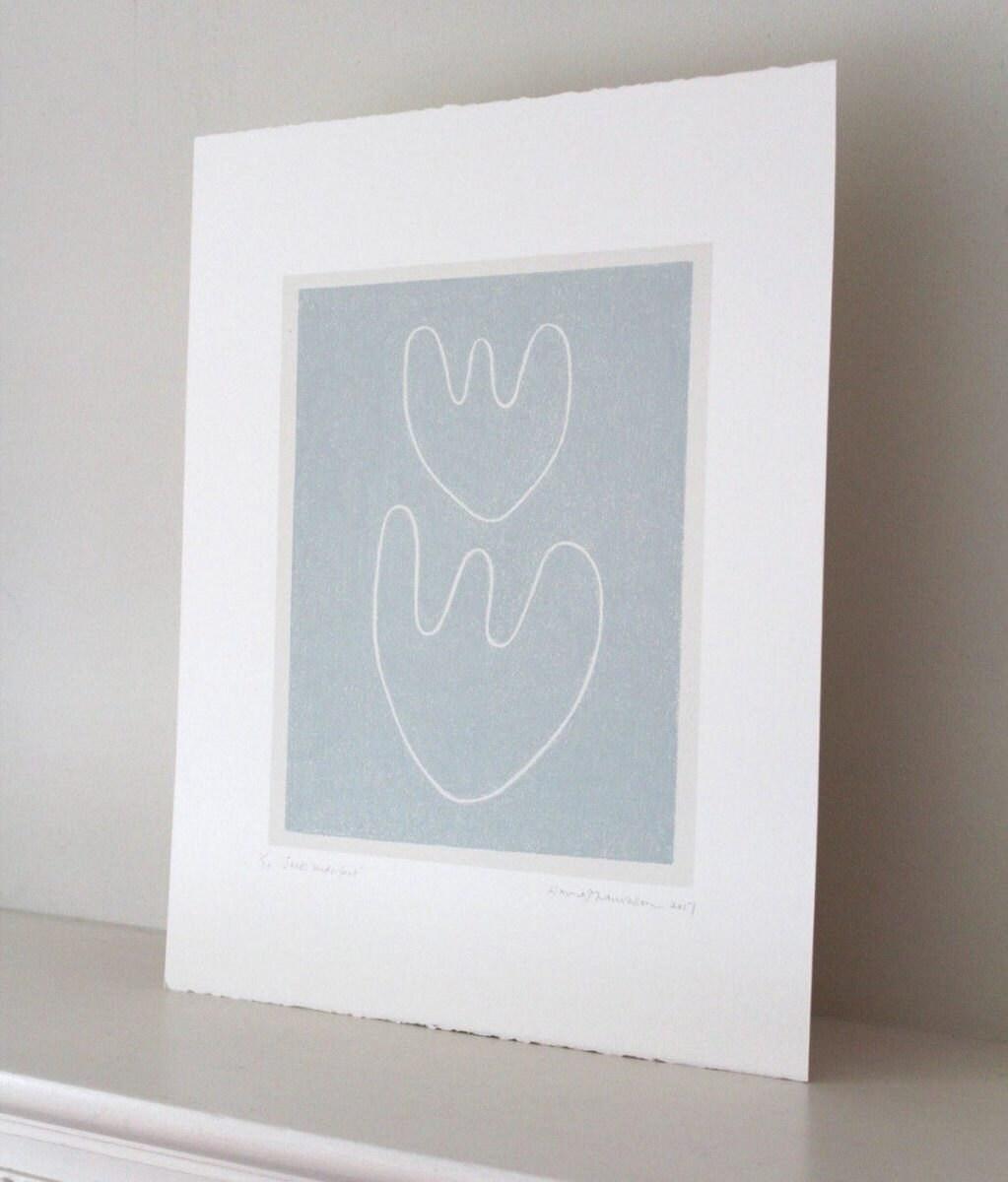 Original silkscreen print from Emma Lawrenson