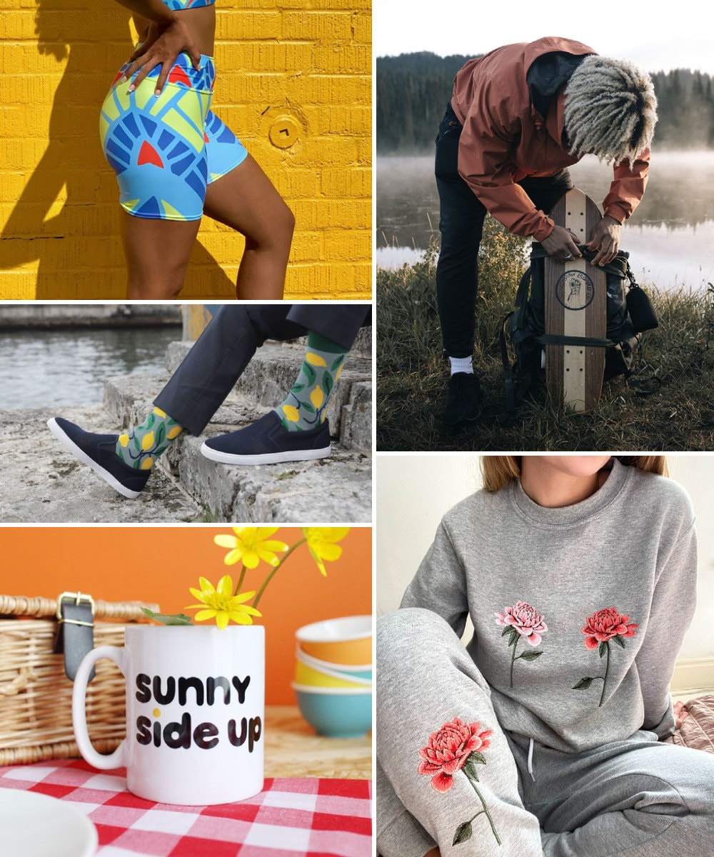 A collage of fun birthday gift ideas hand-picked for Sagittarius.