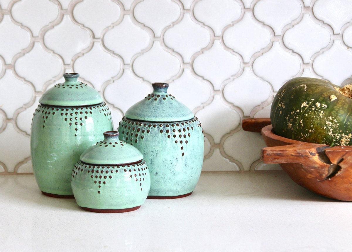 Ceramic storage from Etsy