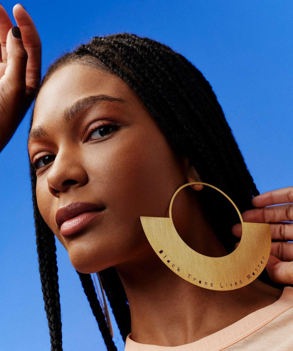 Earrings from Laka Luka, on Etsy