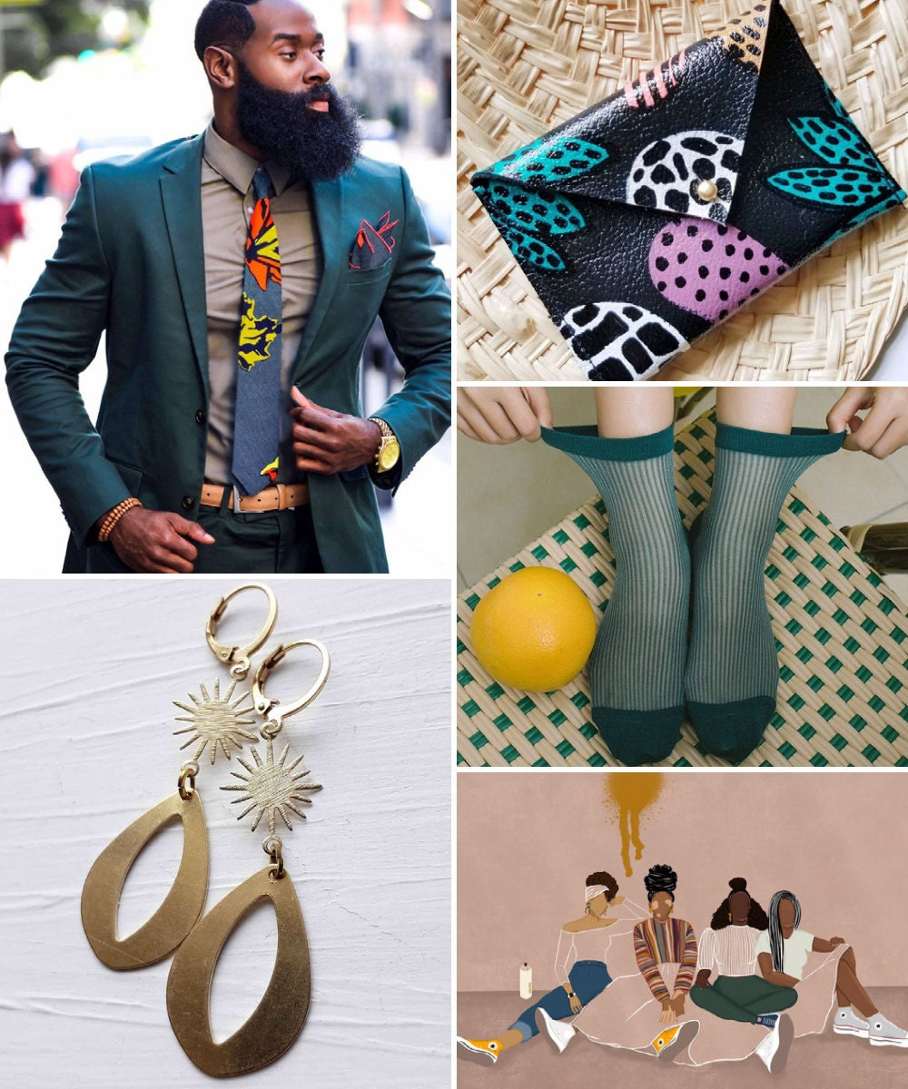A collage of unique birthday gift ideas hand-picked for Aquarius.