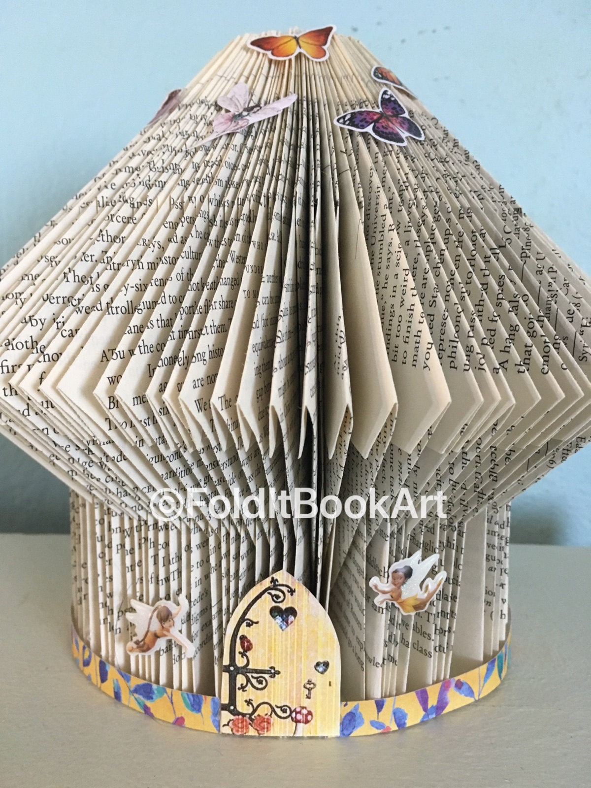 book art fairy house www topsimages com rh topsimages com Fairy Templates for Cardboard Houses Fairy House Made Out of Book