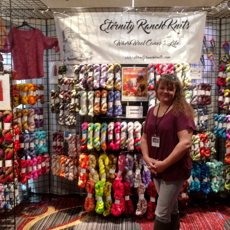 Hand dyed Yarn for all your Crafting by EternityRanchKnits
