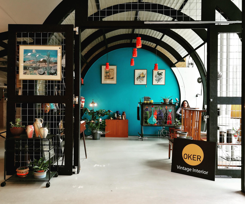 Vintage Meubels Eindhoven : Oker vintage interior