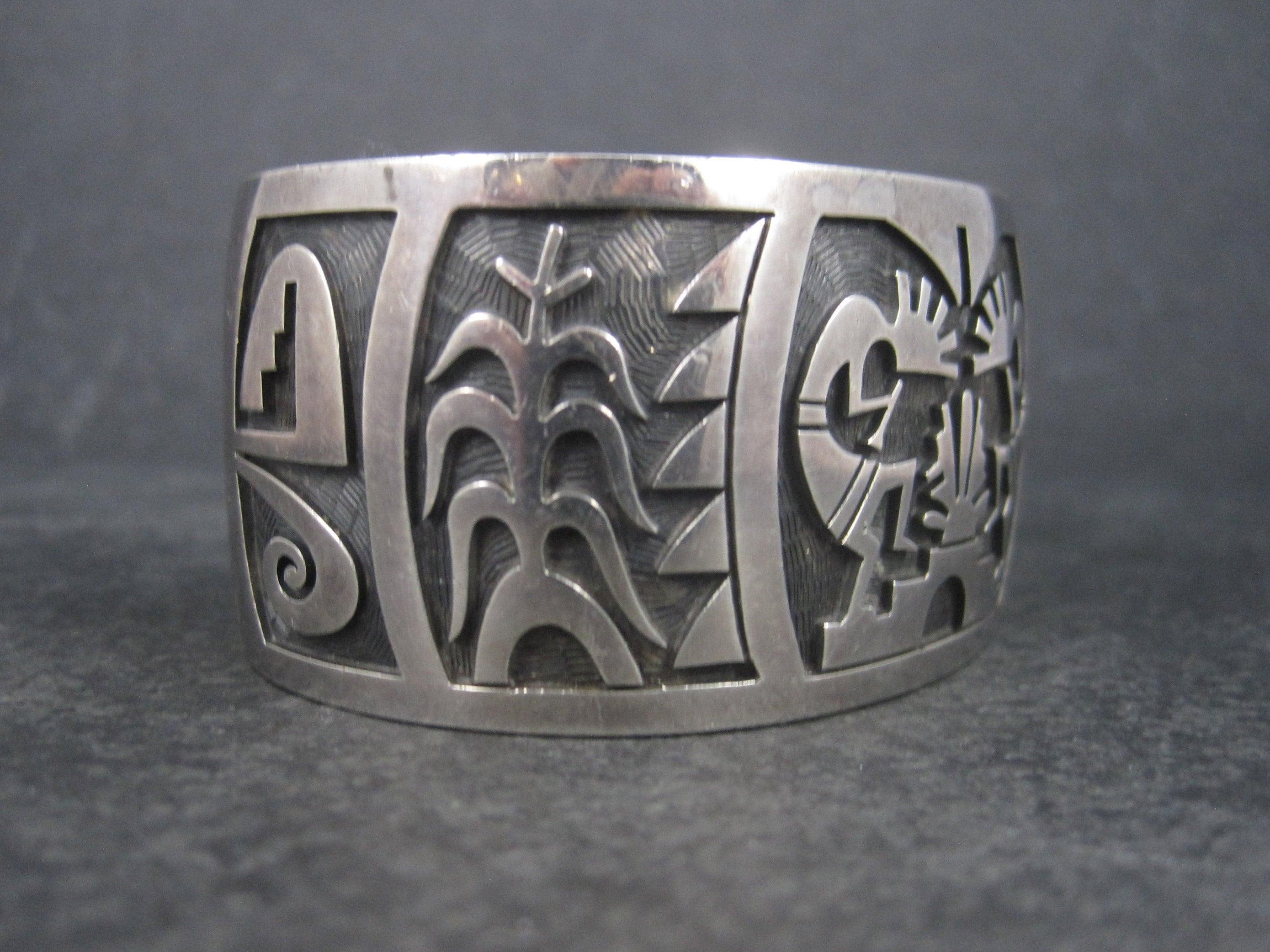 Vintage Hopi Cuff Bracelet from Bejeweled Emporium