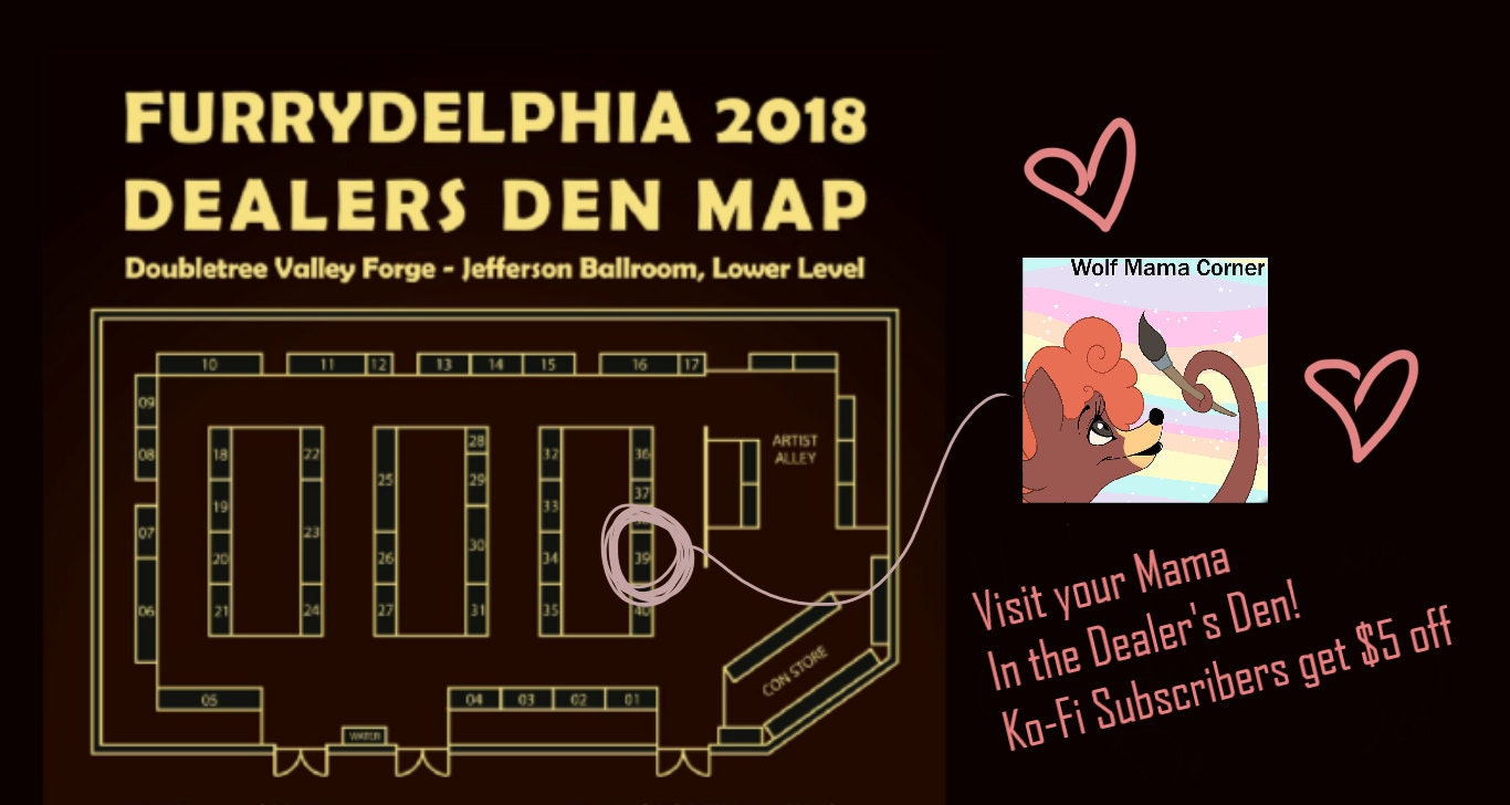Conventions may post there tables up to a month in advance!