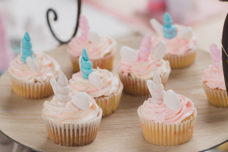 Unicorn Cupcakes   Little Printables Shop   Unicorn Birthday Ideas