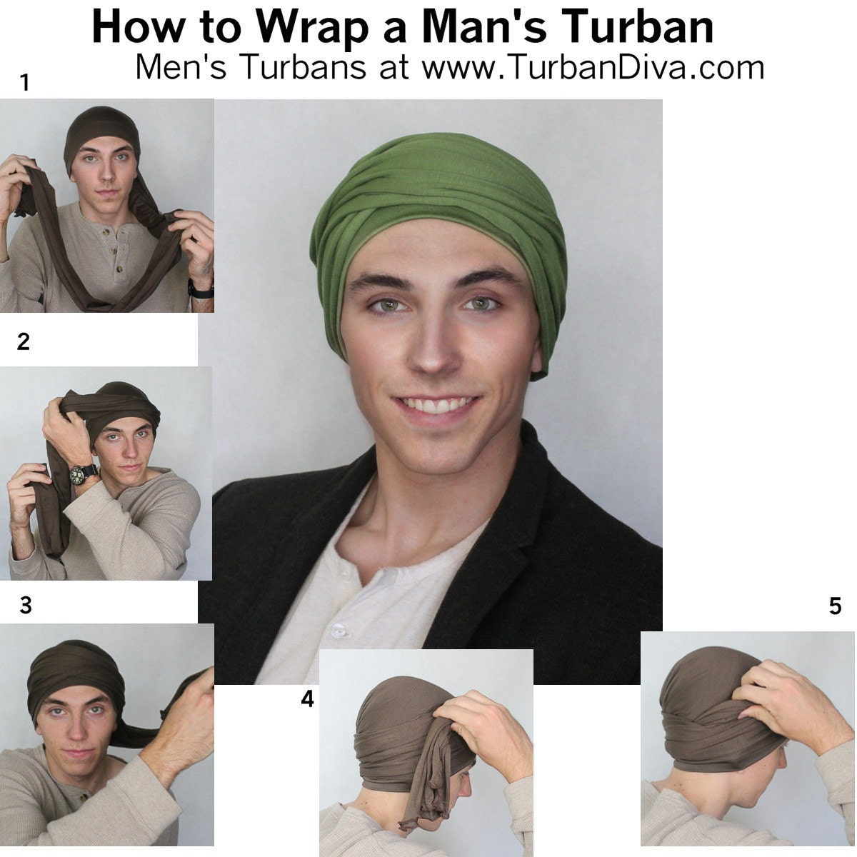 How to Wrap a Mans Turban