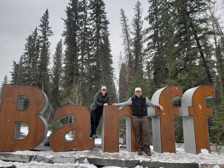 Jo and Matt at Banff 2018