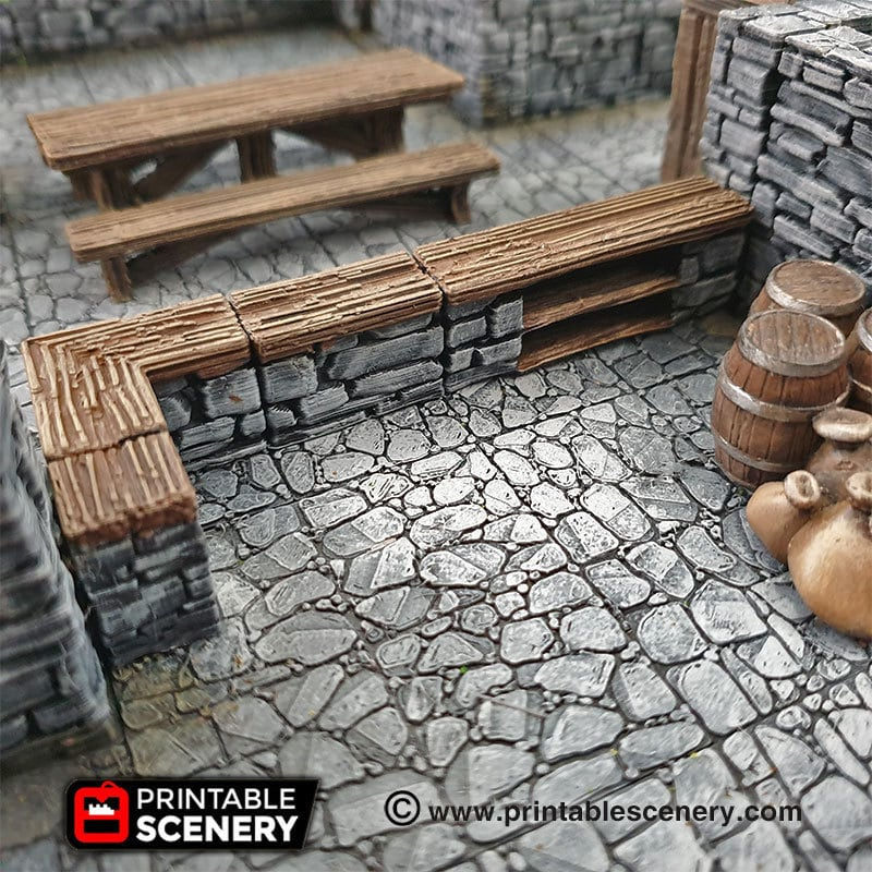 Stone bar scatter