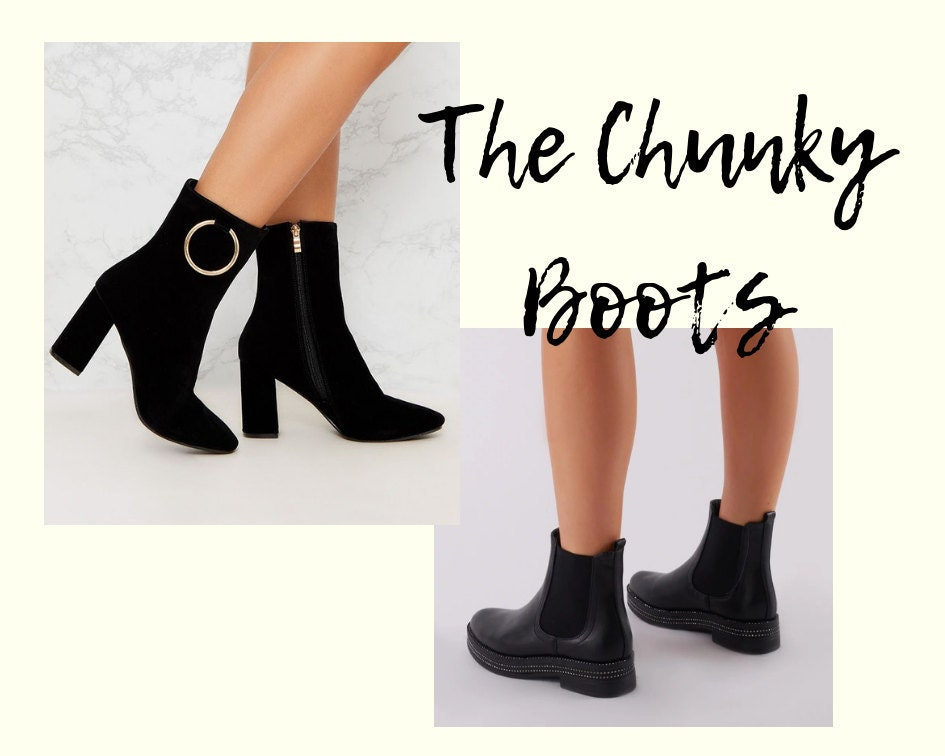 The Chunky Boots
