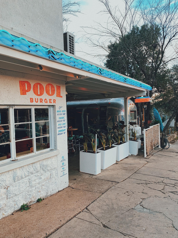 Pool Burger Austin Texas