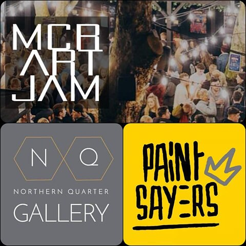northern quarter gallery -  paintsayers - mcr art jam