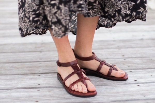 leather sandals for women 2019