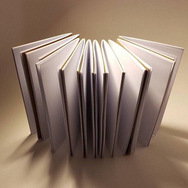25 Pack of Kraft Notebooks