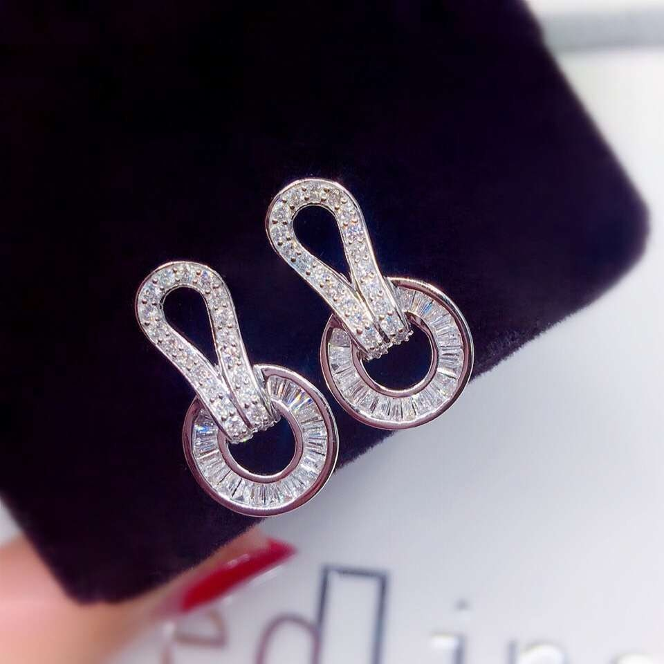 Diamond Earrings by Gem Select Crafts