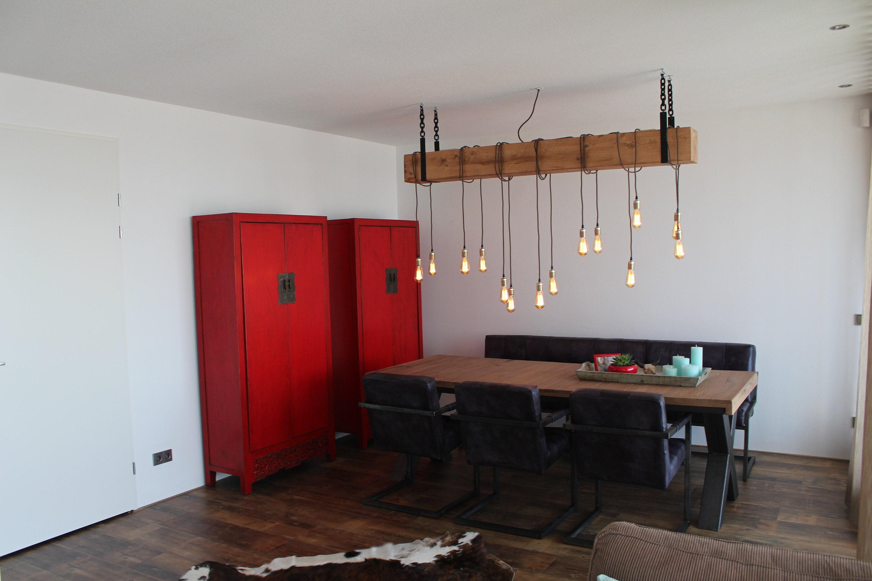Hanglamp Hout Industrieel Chique en Robuust