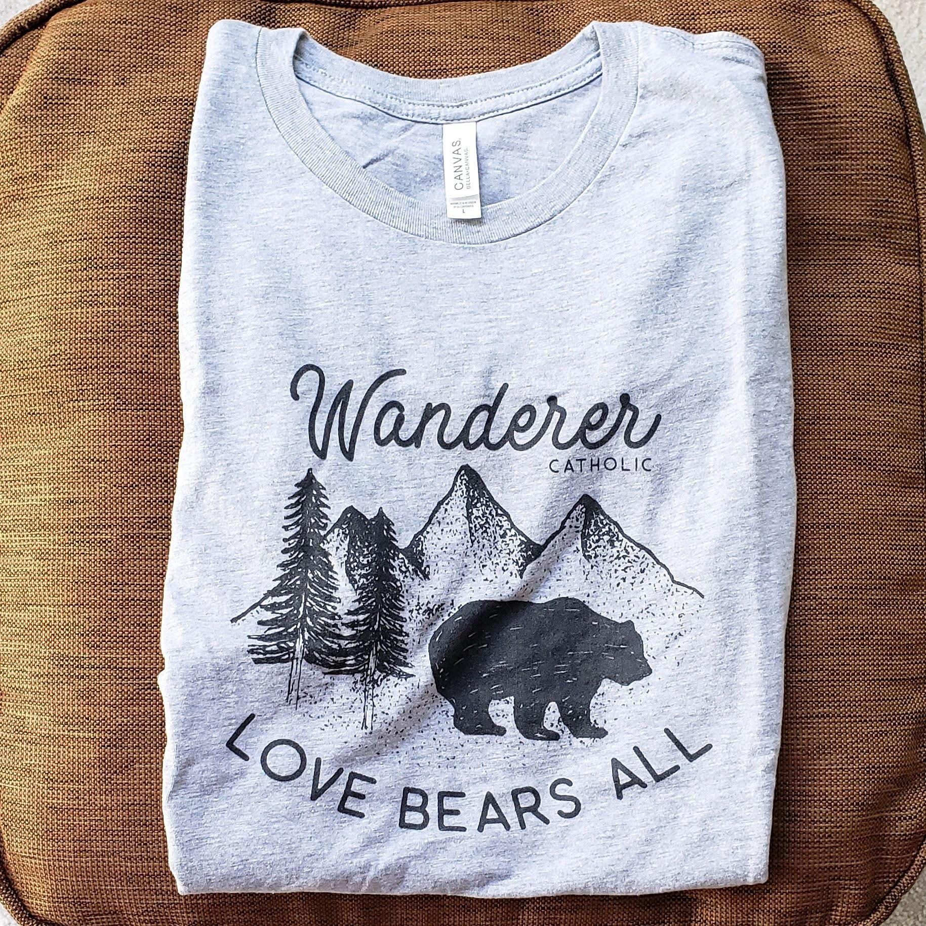 Love Bears All Tee - Wanderer Catholic