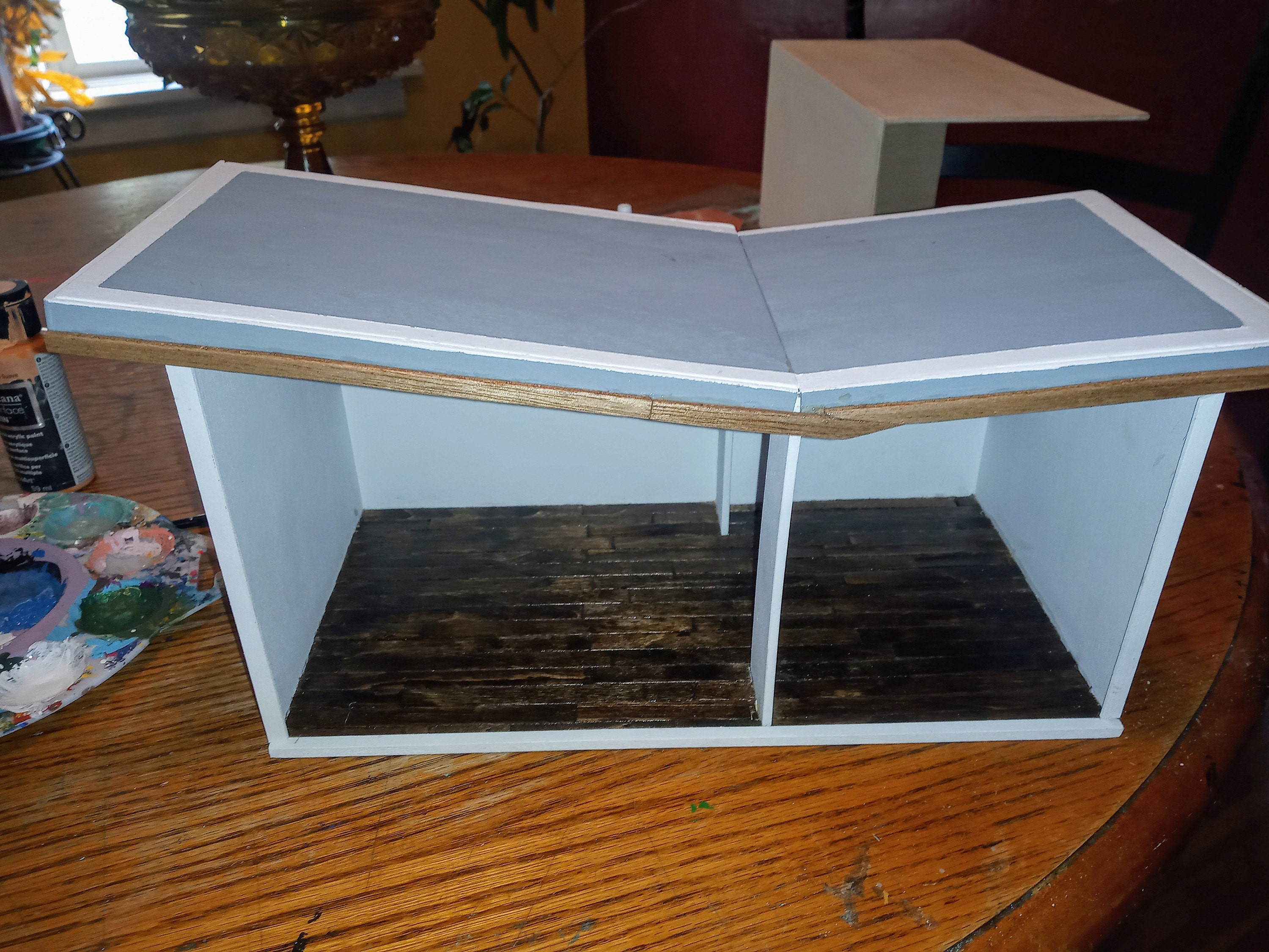 Butterfly Roof Dollhouse