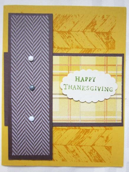 Happy Thanksgiving Card by Certain Smiles (images c. Stampin Up!)