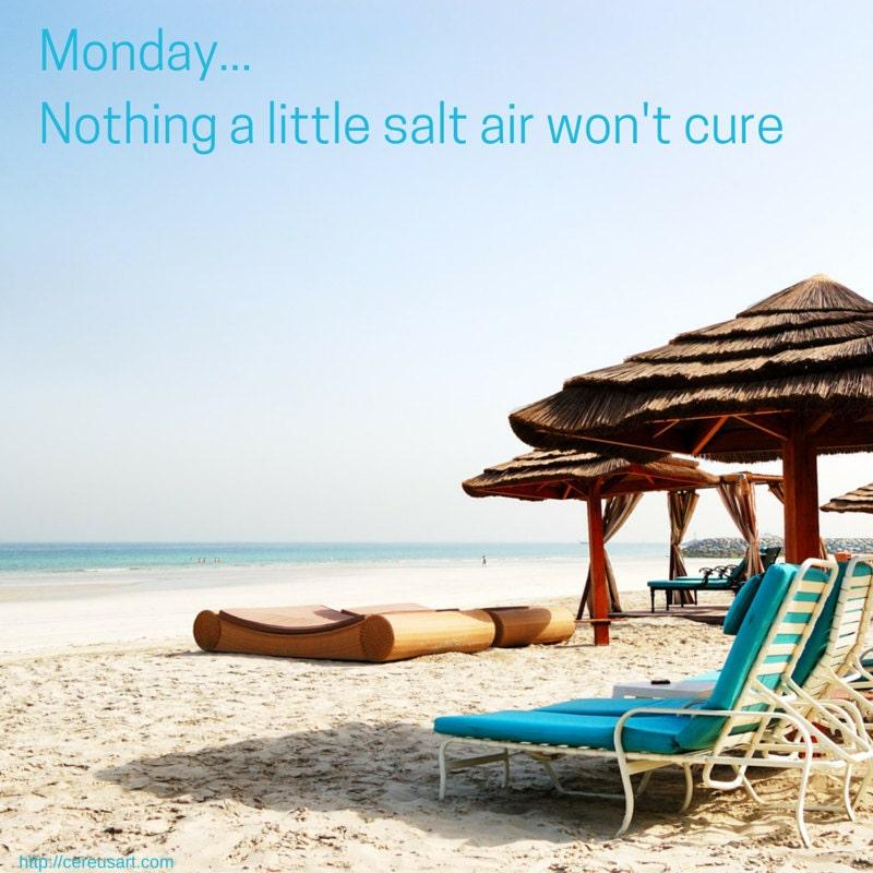 Monday...nothing a little salt air wont cure