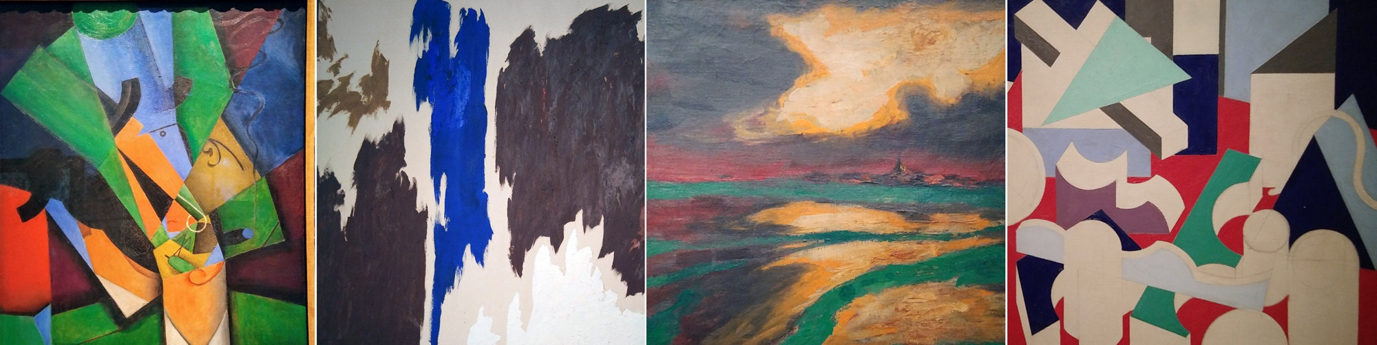 Color schemes from the Sophia Reina and  Thyssen Museums