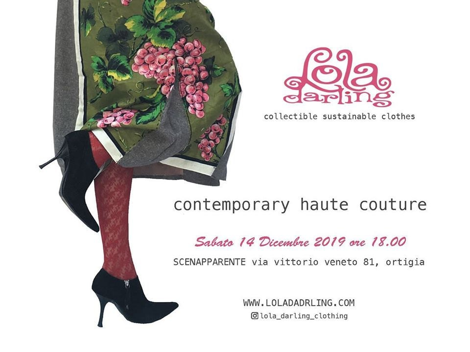 #exhibition #hautecouture #loladarling #sustainableclothing