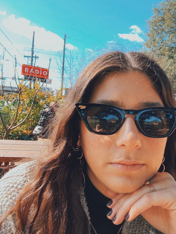 Jaclyn Najjar at Radio Coffee Beer Austin Texas