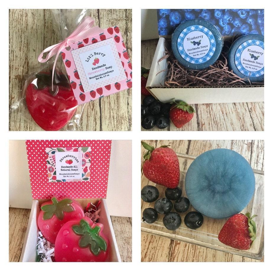 Summer Fruit Soaps