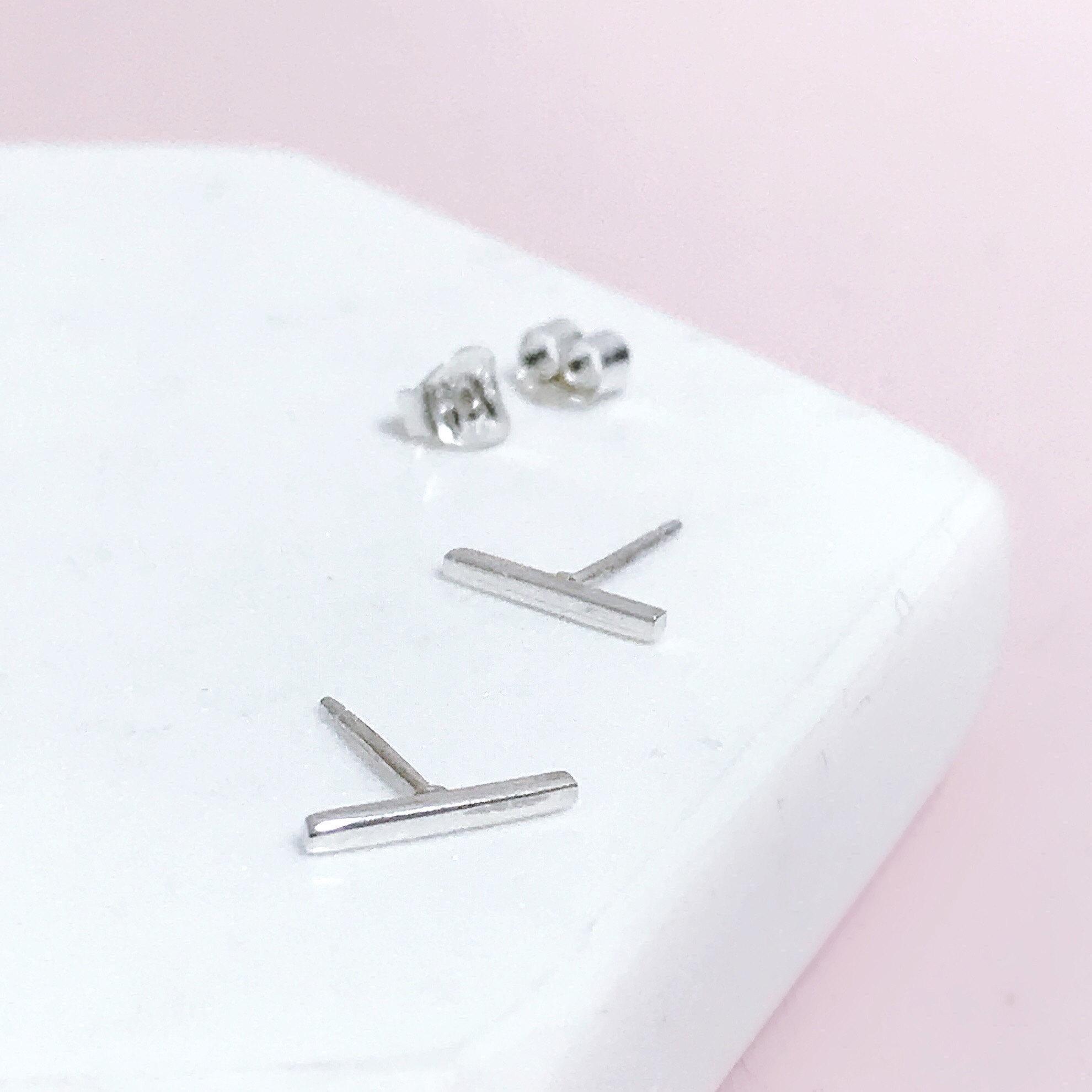 Mini Bar Earrings
