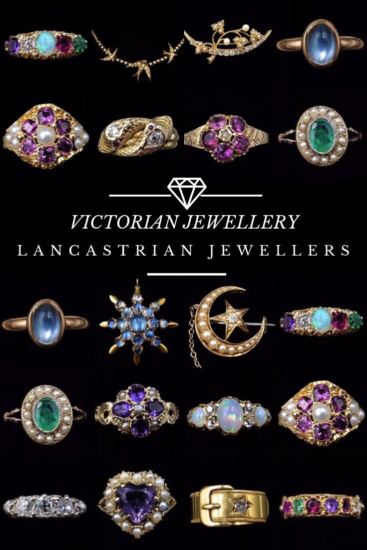 Victorian Jewellery Pinterest