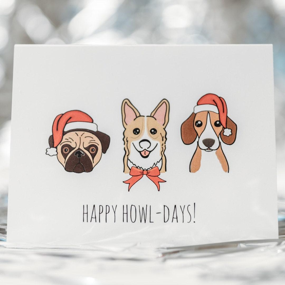 acouplepuns, dog card, christmas dog gift, christmas gift guide, holiday gift guide, dog gifts