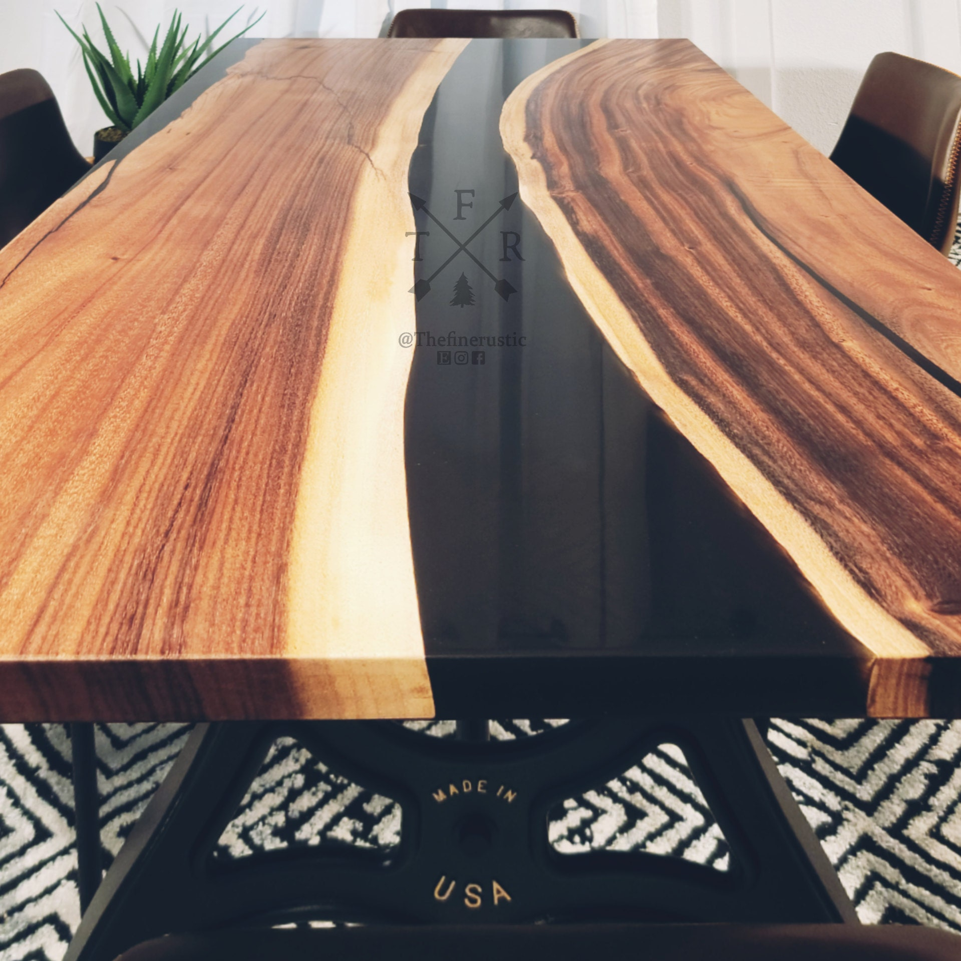 black river edge tables