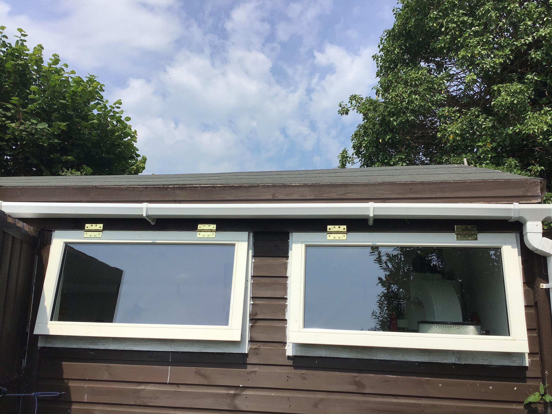 Gorlech workshop refit windows