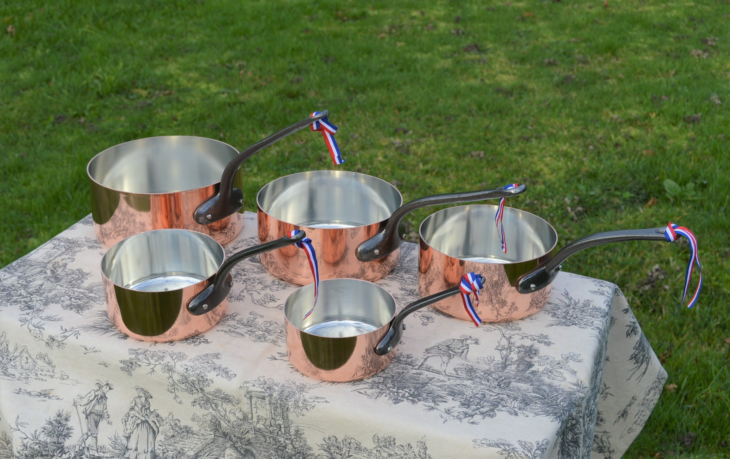 NKC Sets of Copper Pans