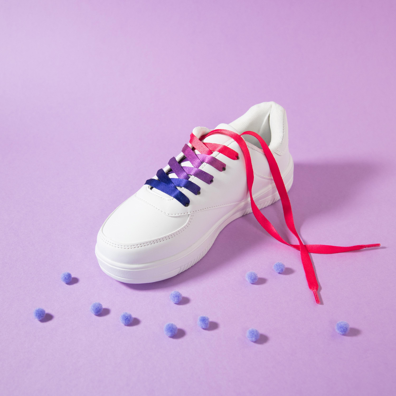 Bisexual Pride Shoelaces LGBT Pride