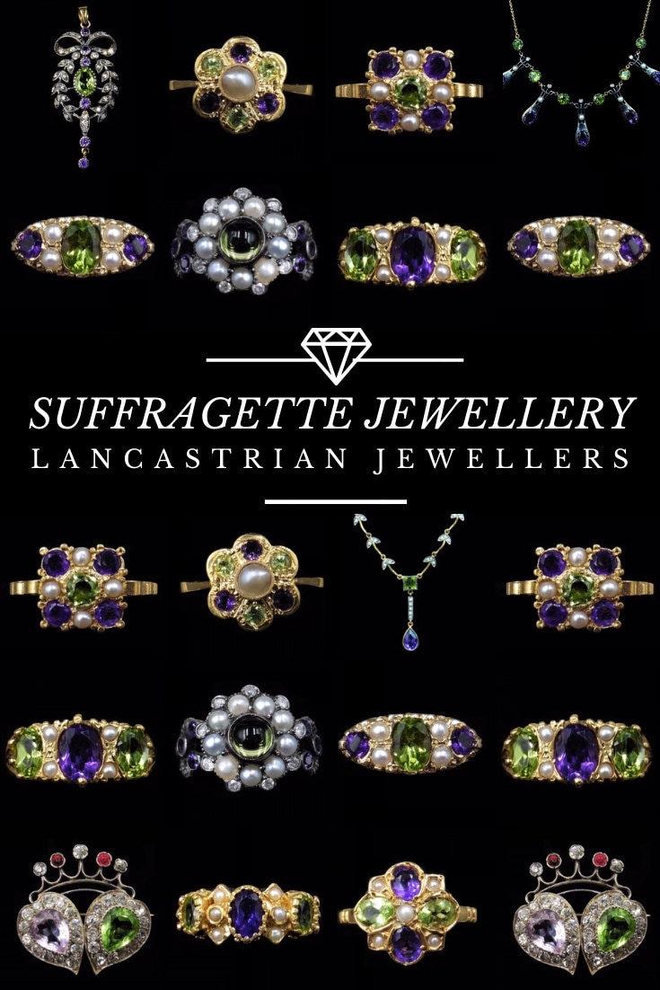 Pinterest Suffragette Jewellery