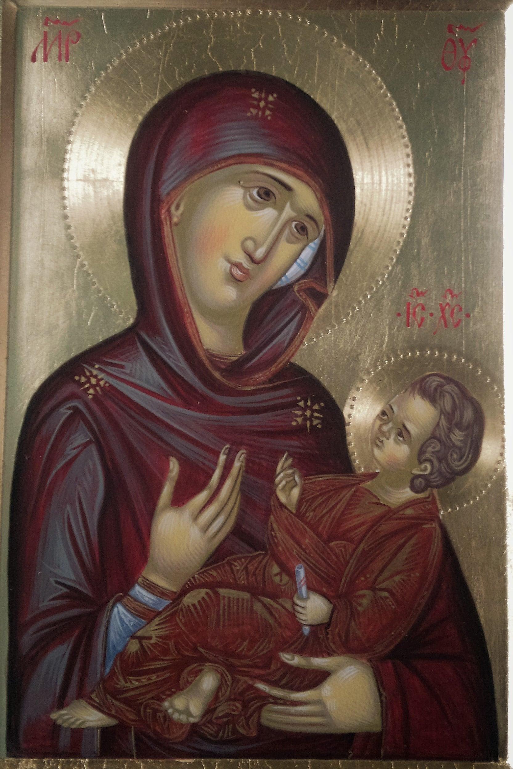 Our Lady of Aristocratus,Aristocratissa, Byzantine icon