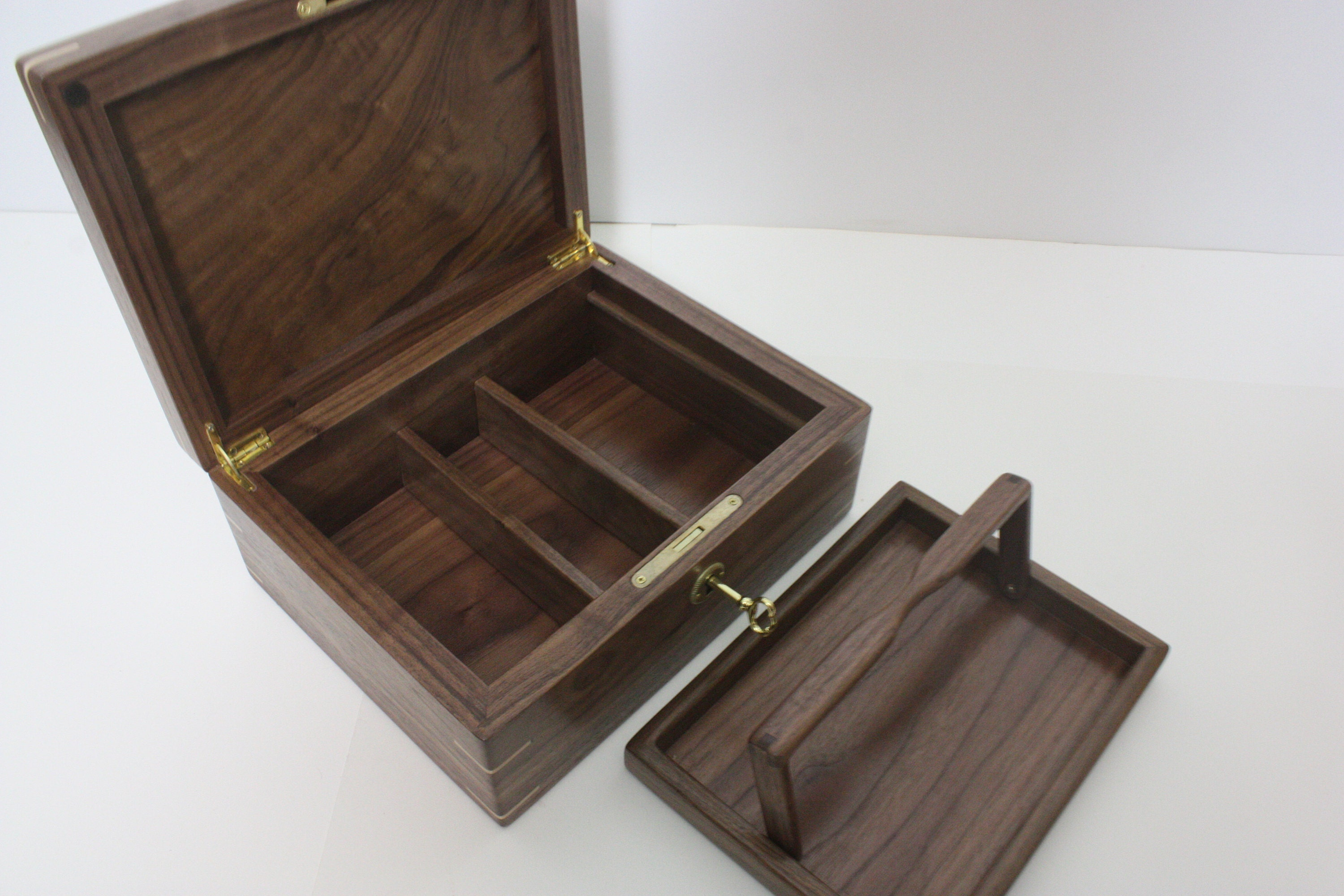 Walnut Jewelry Box