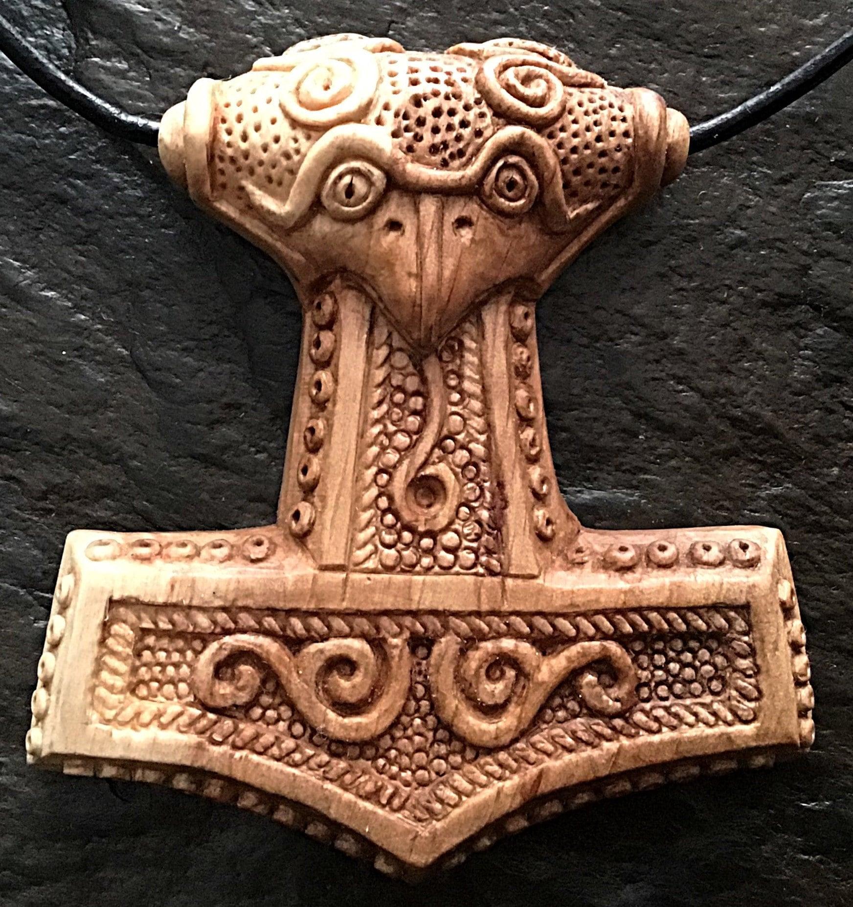 Paul's interpretation of the Skane Thor's Hammer