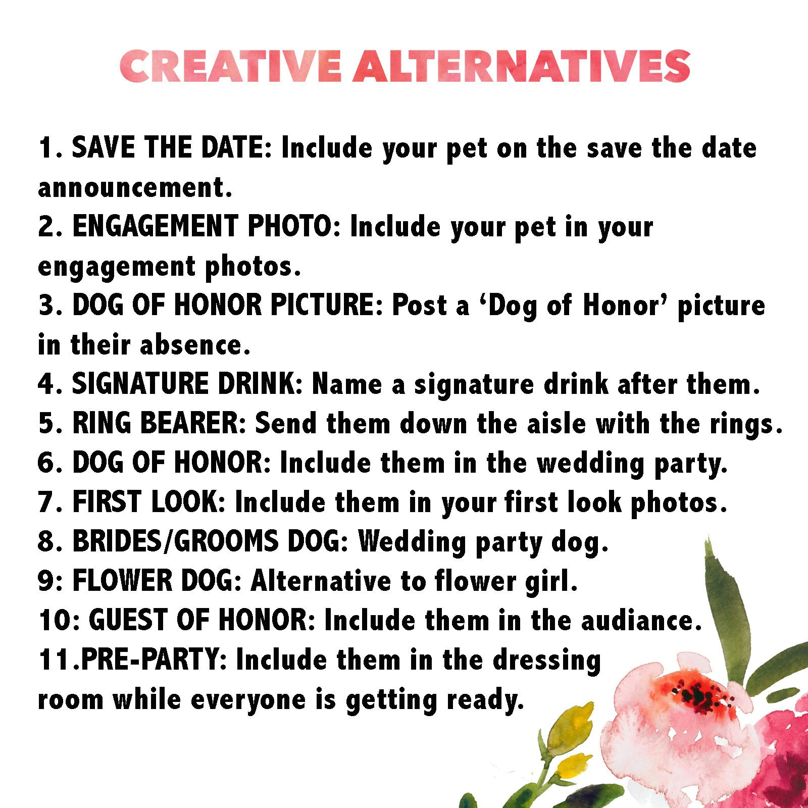 Creative Alternatives