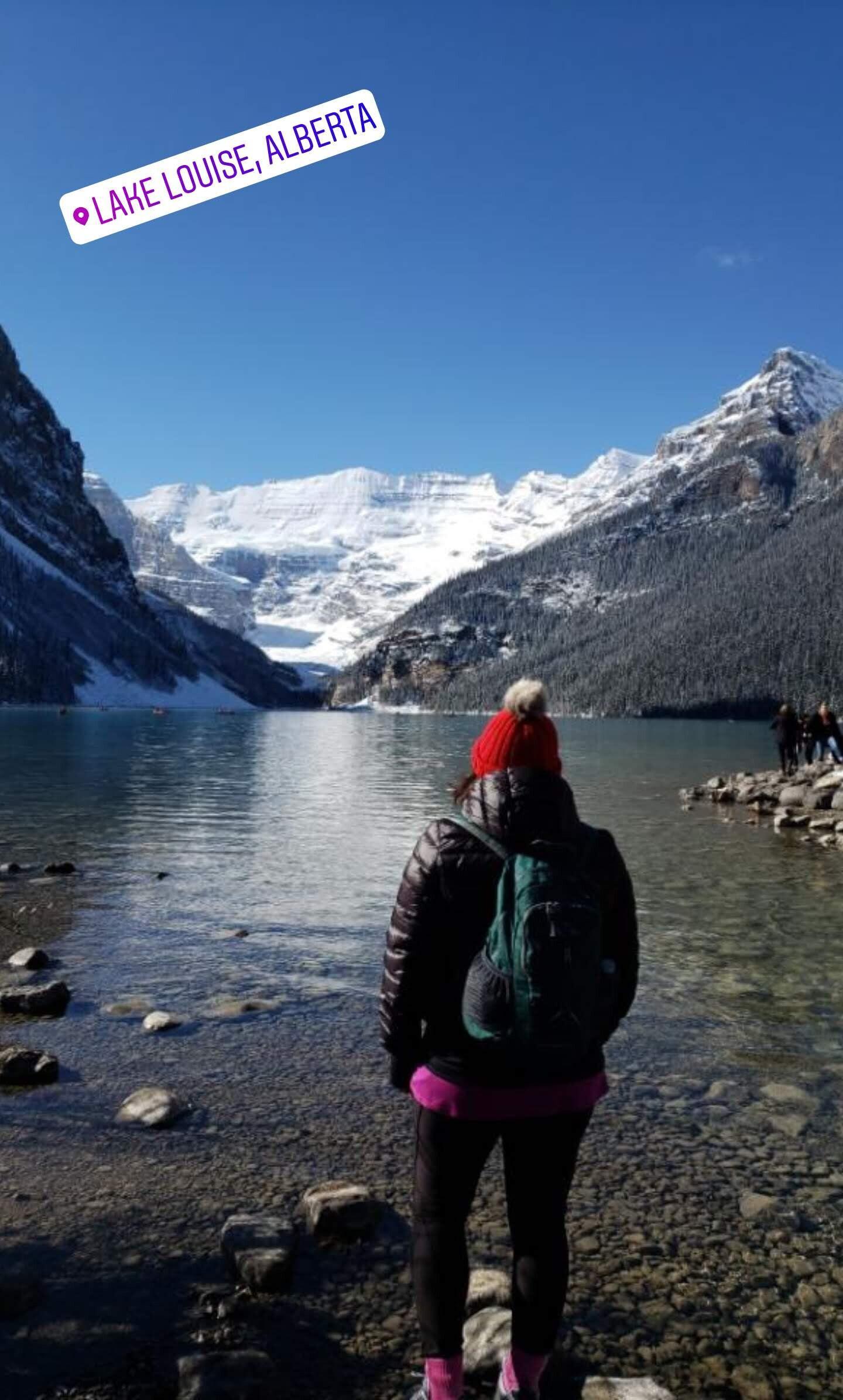 Cant stop staring at Lake Louise! Banff