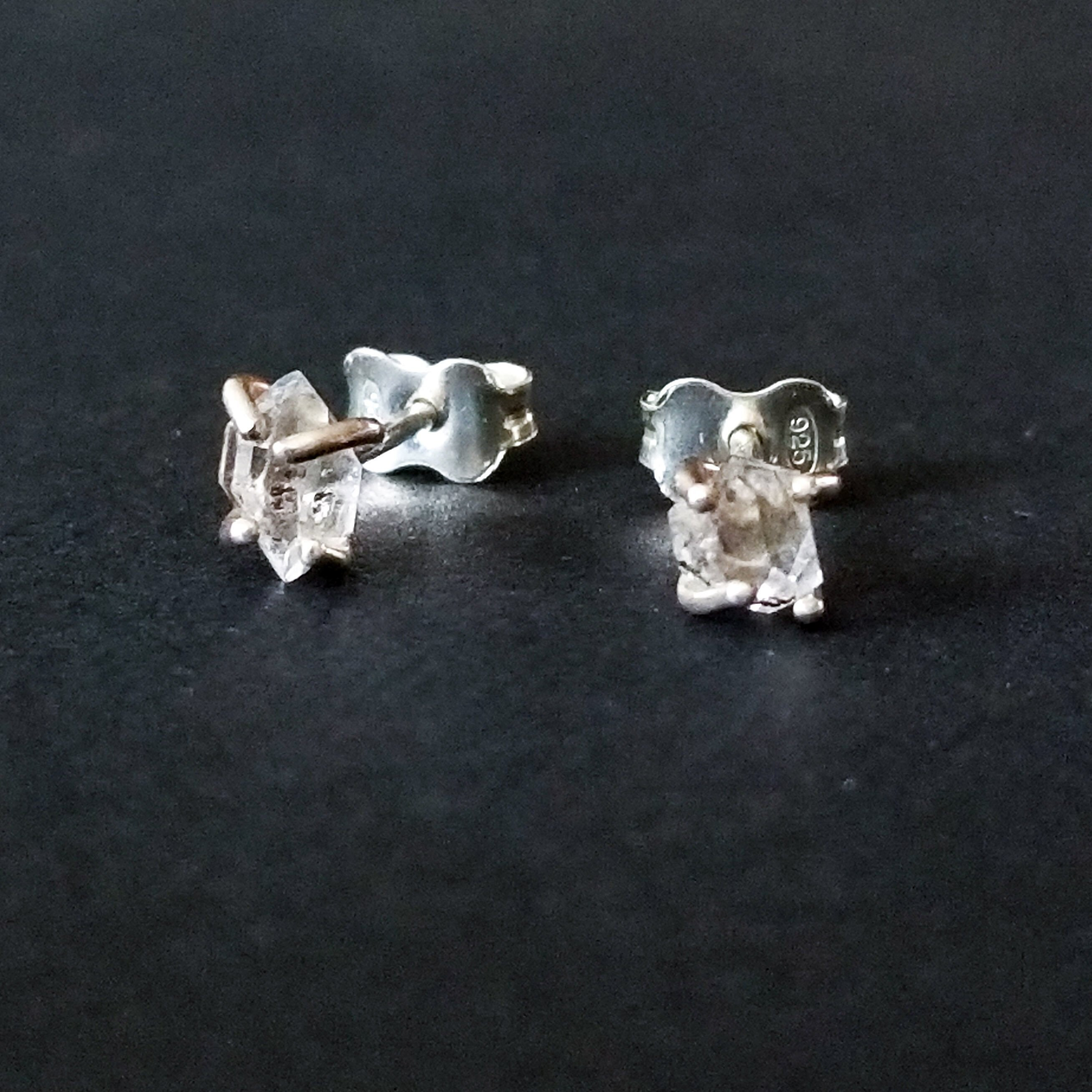 inchoo bijoux herkimer diamond earrings