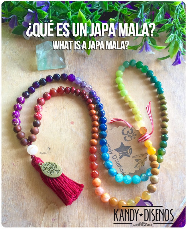 what is a japa mala necklace