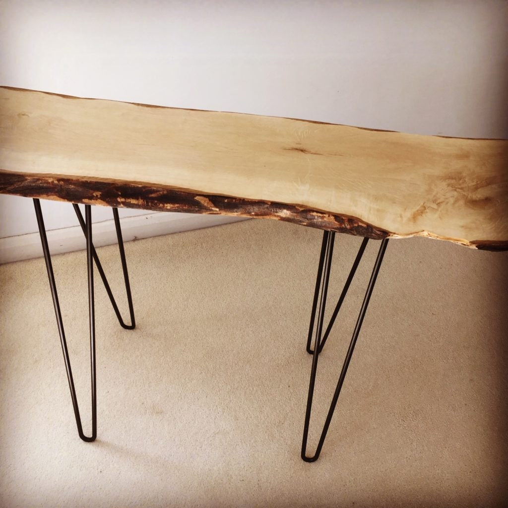 Reclaimed hornbeam table