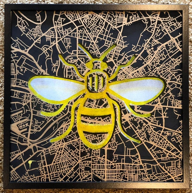 northern quarter gallery manchester bee
