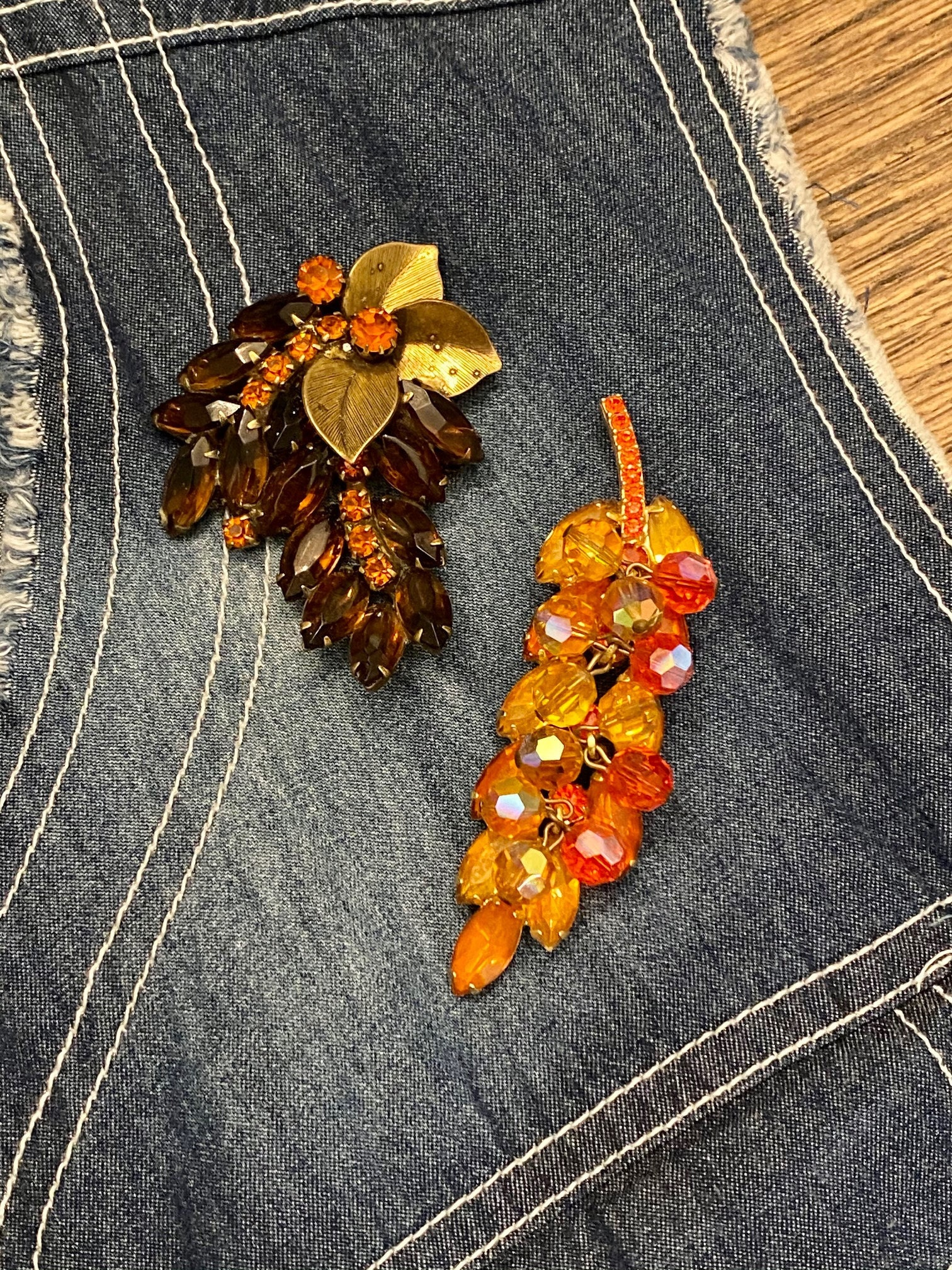 Vintage Julianna Brooches for Fall