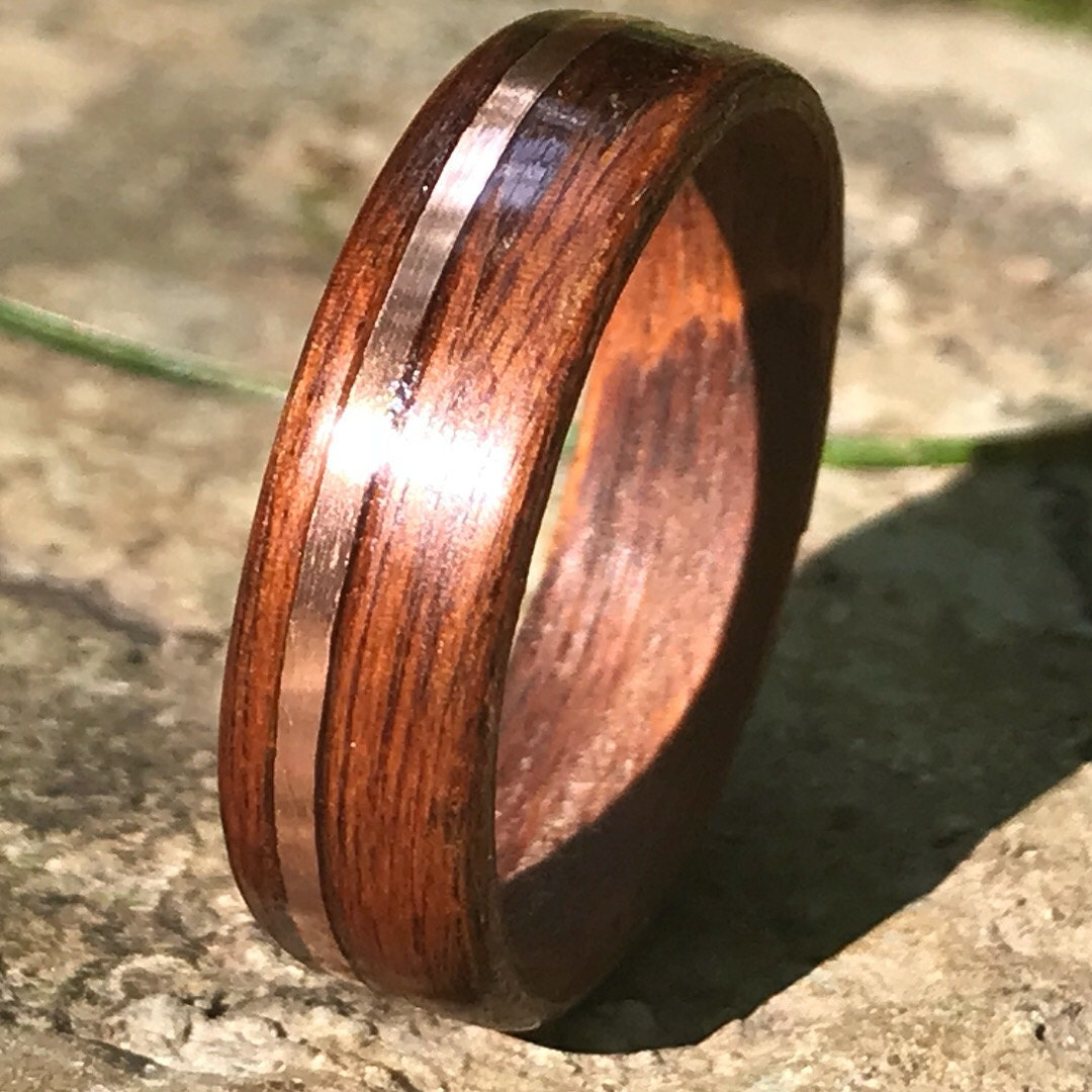 Gold Filled 14/20 Rosewood Ring