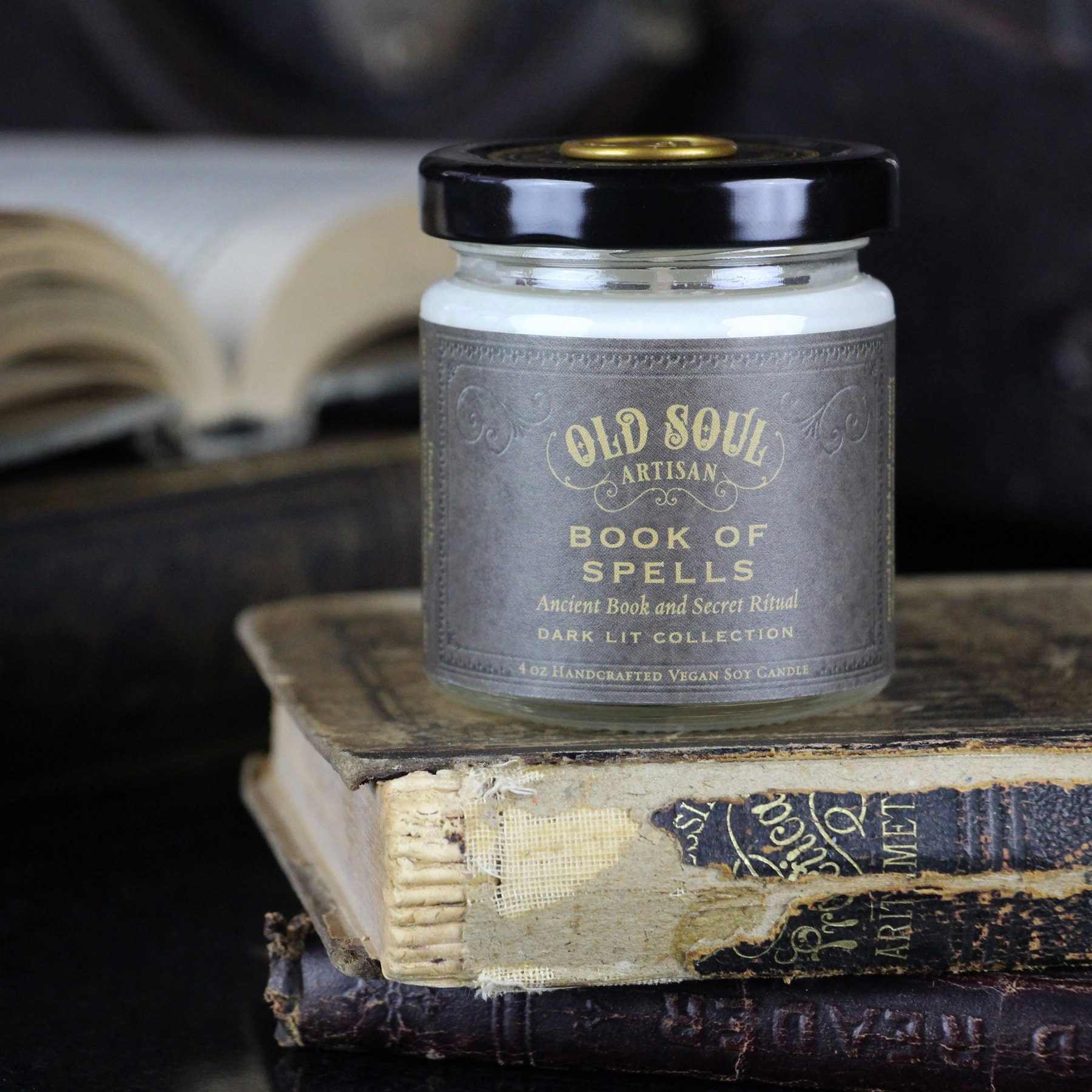 Inchoo Bijoux Holiday Gifts Goth Old Soul Artisan Candle